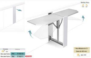 mesa extraible dinna blog plastimodul decoración y cocina tenerife